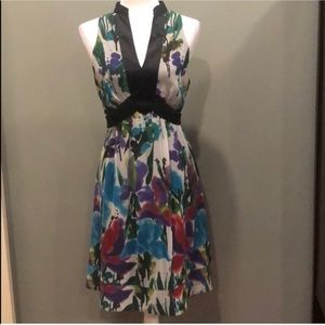 The Limited Floral Chiffon Dress Large